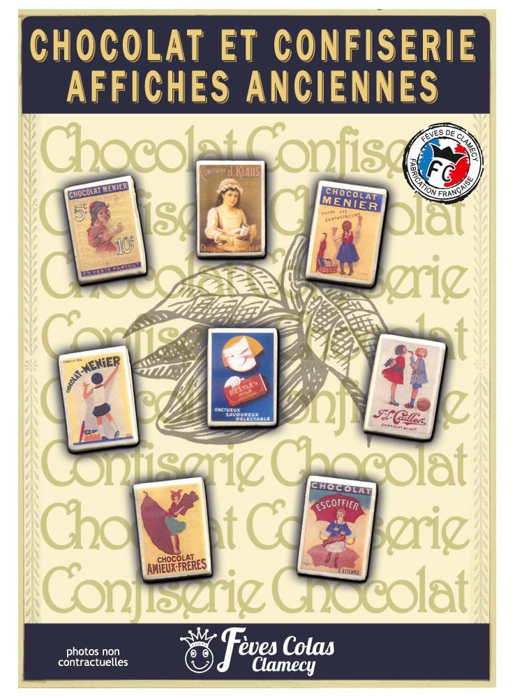 Affiches Anciennes Chocolat & confiserie – série 4