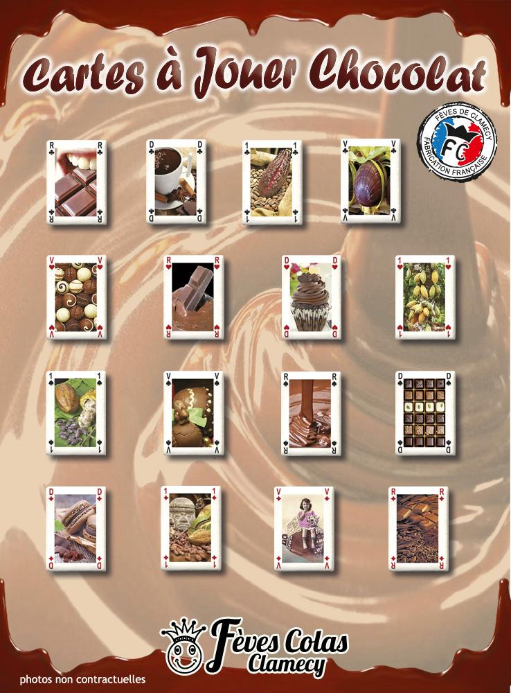 Les Cartes à Jouer Chocolat