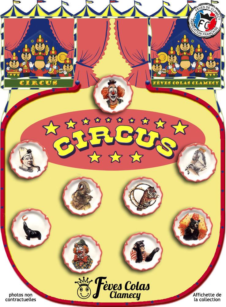 Circus assiette