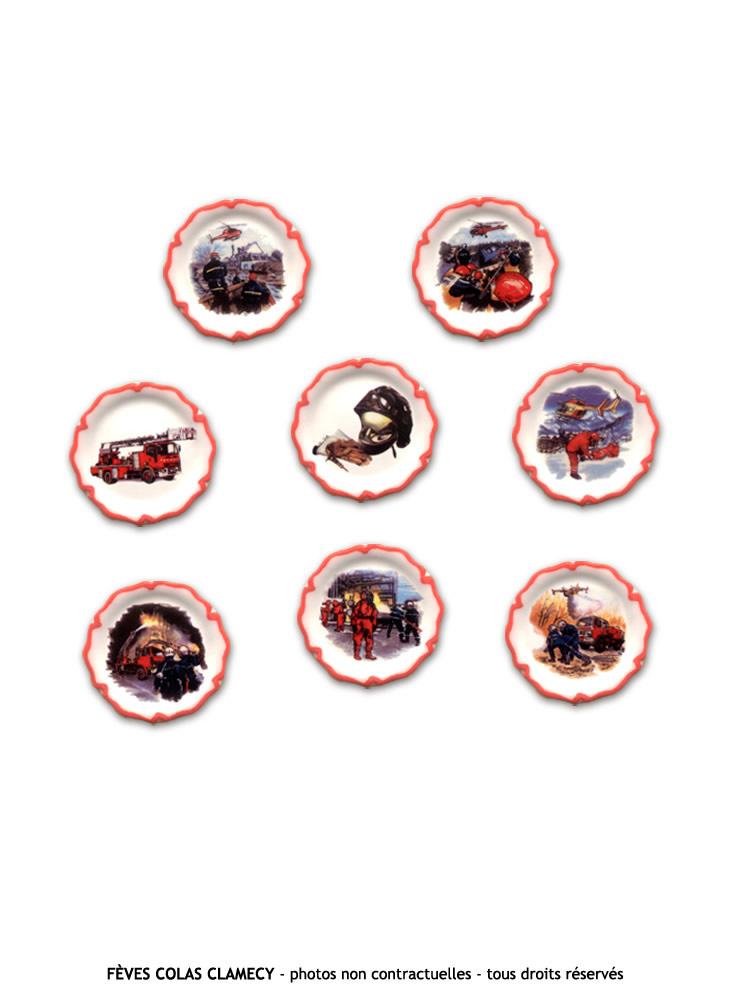 Sapeurs Pompiers - assiette