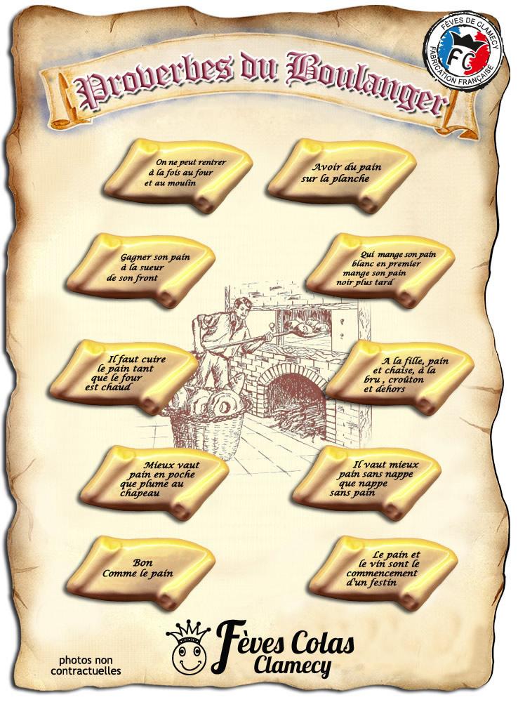 Proverbes du Boulanger