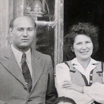 Roger Colas & son épouse