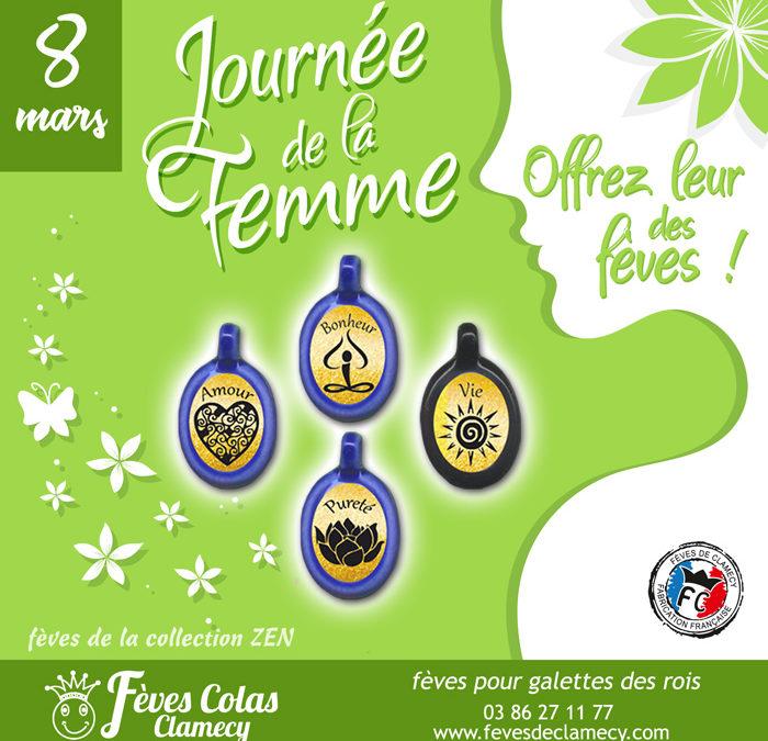 Offrez des Fèves de Clamecy pour la Journée de la Femme