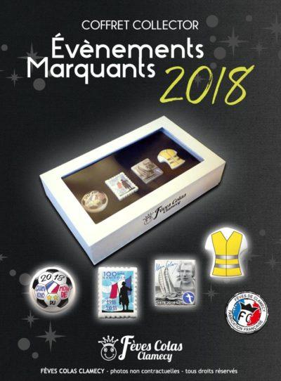 Coffret Collector Evènment Marquants 2018