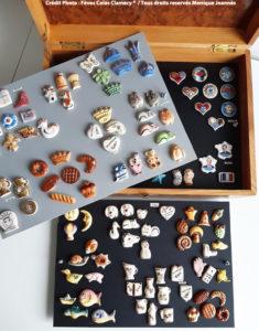 Collection de fèves françaises artisanales. Collection des présidents ; Collection coeur pour le monde