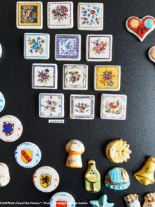 Collection de fèves françaises artisanales.